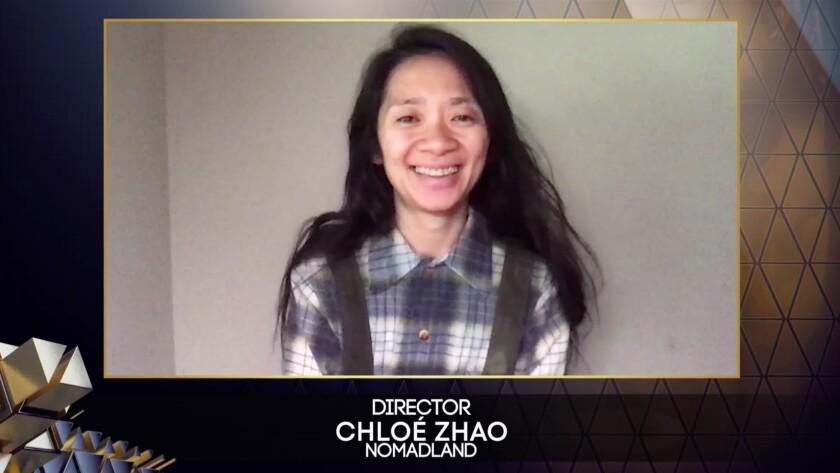 Chloé Zhao, directora de cine.