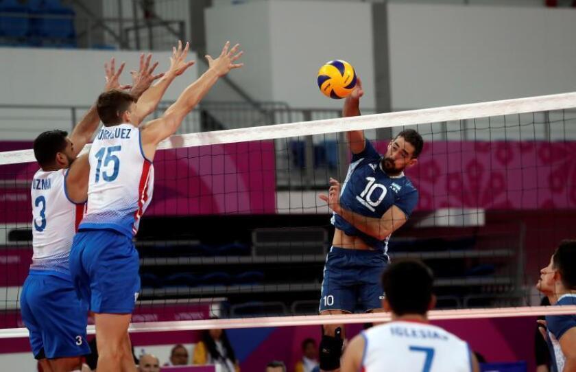Argentina-Chile y Brasil-Cuba, en las semifinales del voleibol masculino