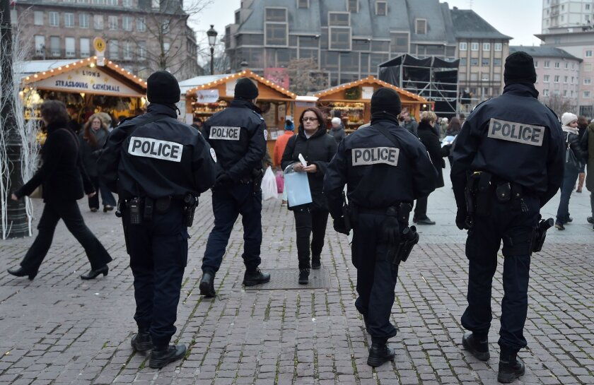 Stepped-up security in Paris, France