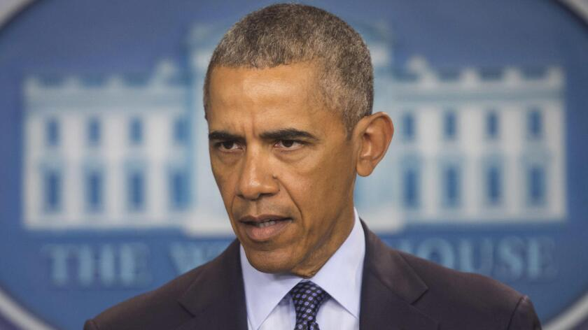 """""""La frase 'islam radical' no es mágica. Eso no es una estrategia"""", enfatizó el presidente Obama, visiblemente enojado, en un discurso desde el Departamento del Tesoro, tras reunirse con su Consejo de Seguridad Nacional para revisar la estrategia contra el grupo yihadista Estado Islámico (EI) tras la matanza de Orlando."""