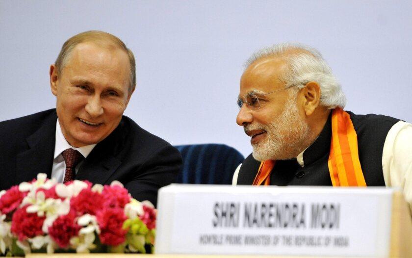 Russia-India summit