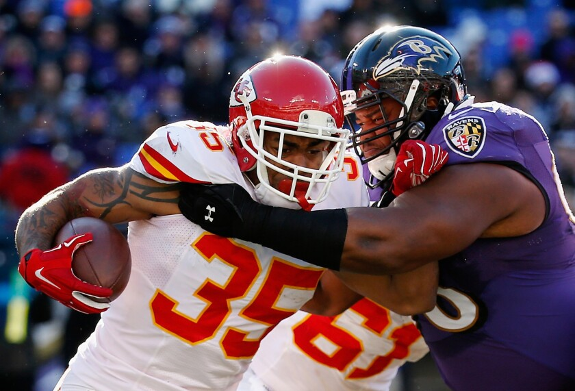 Charcandrick West has rushed for 538 yards with four touchdowns for Chiefs after emerging from the Kansas City depth chart following Jamaal Charles' season ending injury.
