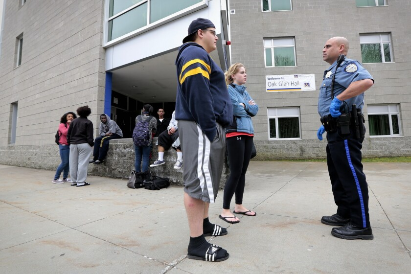 Student saw Boston bombing suspect on campus after marathon