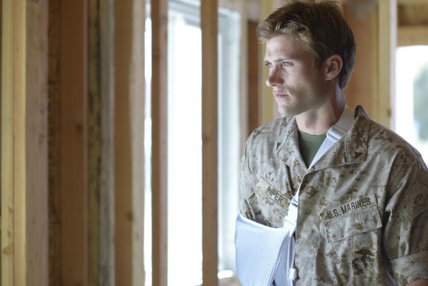 """Scott Eastwood as John in the movie """"Dawn Patrol."""""""