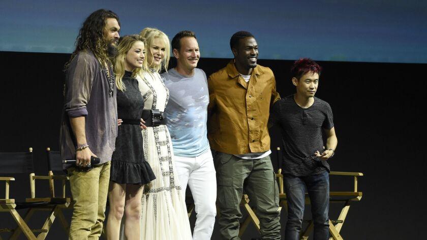 Jason Momoa, Amber Heard, Nicole Kidman, Patrick Wilson, Yahya Abdul-Mateen II, James Wan