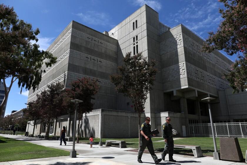The Orange County Jail Complex in Santa Ana.