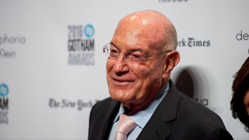 Arnon Milchan attends the Gotham Independent Film Awards in New York on Nov. 28, 2016.