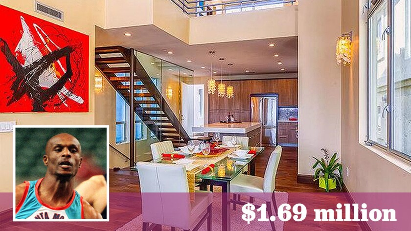 Three-time Olympic gold medalist Steve Lewis has paid $1.69 million for a home in Redondo Beach.