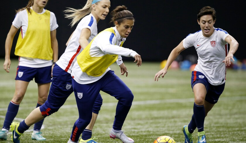U.S. women's soccer team will rely on several players to assume Abby Wambach's role