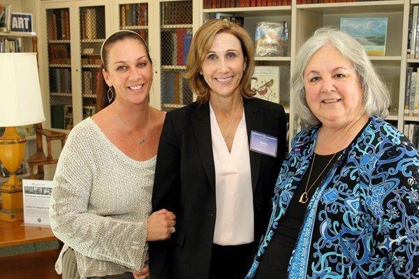 Allison Murray, Kathie Calvin, Gloria Baker