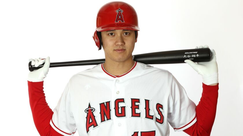 sports shoes 83622 1d25b Angels' Shohei Ohtani expected to start hitting balls ...