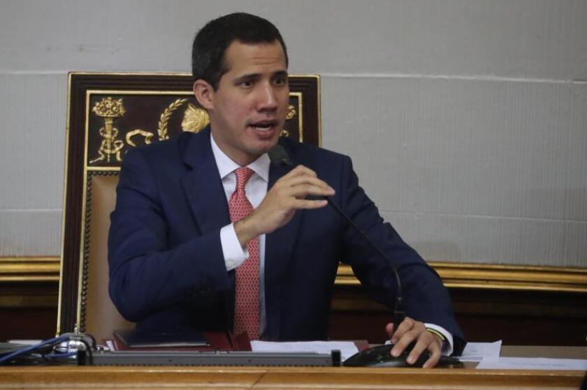 """Guaidó dice que el éxodo puede llegar """"fácilmente"""" a los 8 millones en 2020"""