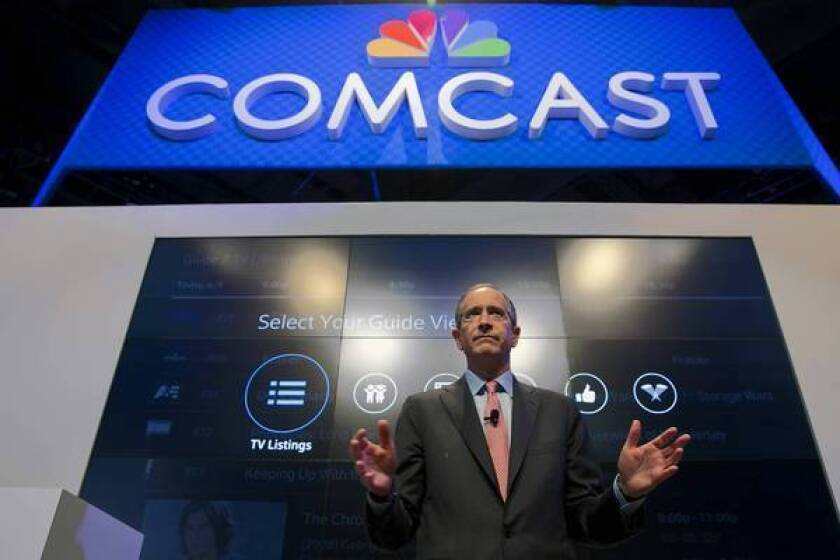 """""""Comcast is taking a leap forward in social TV by enabling Twitter users to more easily find and view the shows they want to watch and discover new shows,"""" Comcast CEO Brian Roberts said in a prepared statement."""
