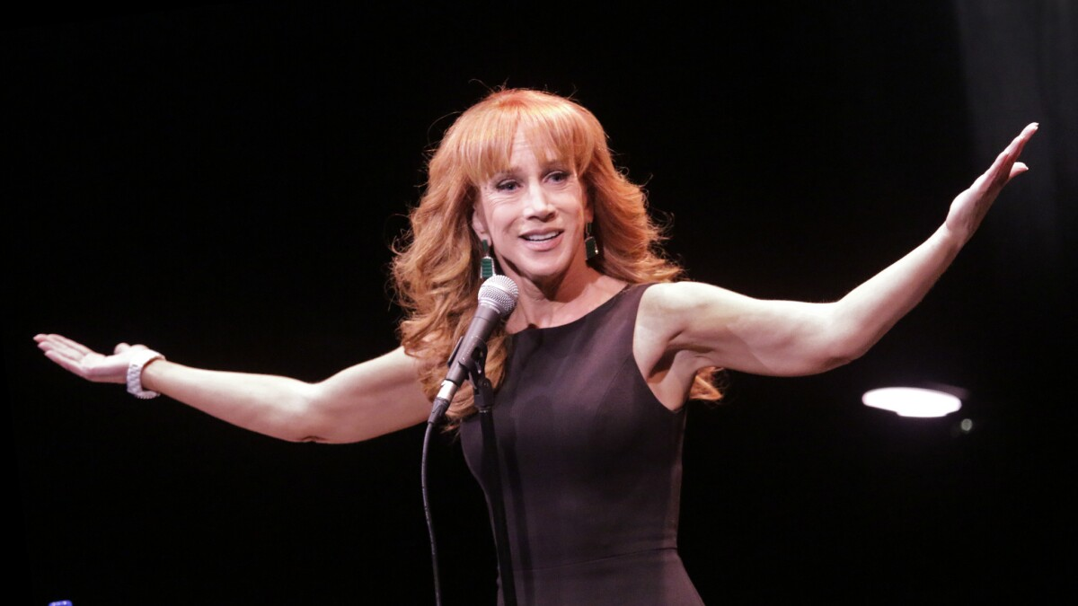 Today in Entertainment: CNN fires Kathy Griffin over gory