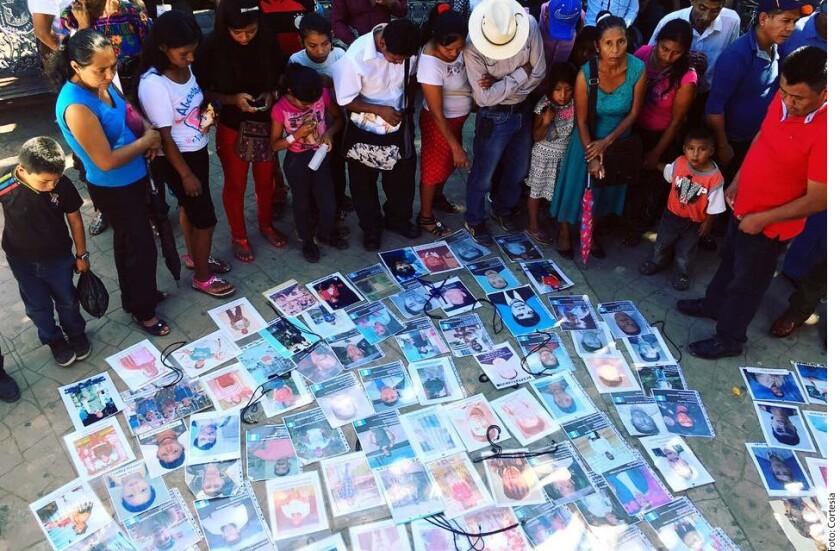 La Caravana de Madres Migrantes llegó esta tarde al Municipio de Frontera Comalapa, Chiapas, limítrofe con Guatemala, en busca de sus hijos desaparecidos.