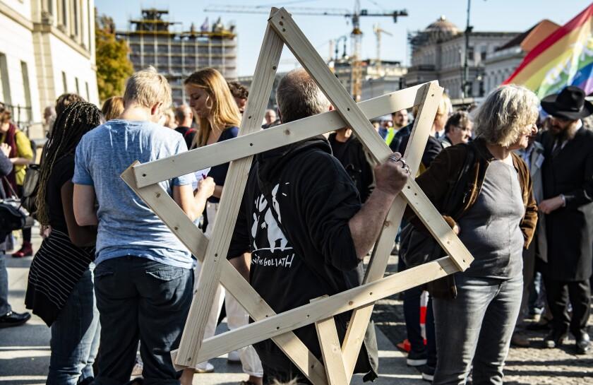 Germany Protest Anti-Semitism