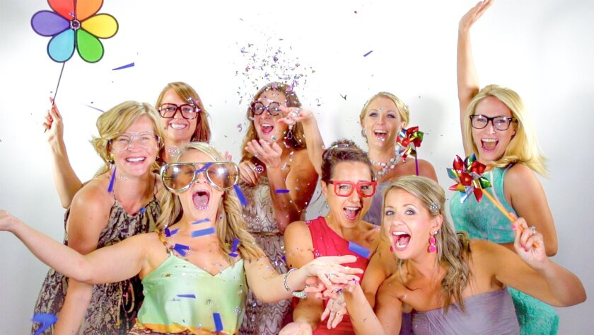 The Slow Motion Photo Booth can be rented for parties at intphoto.com