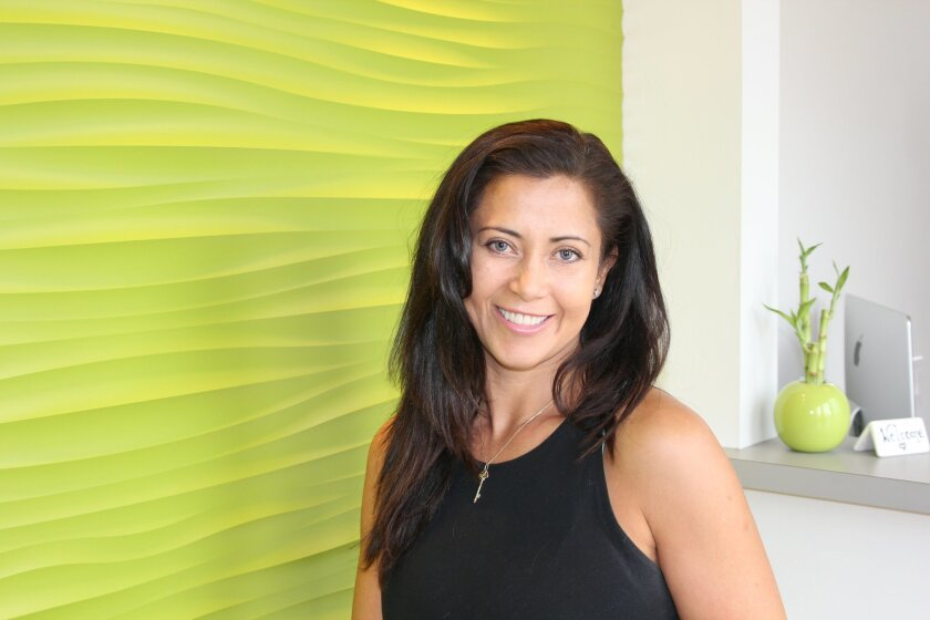 Alex Arias recently opened her second Women's Elite Yoga location in Carmel Valley.