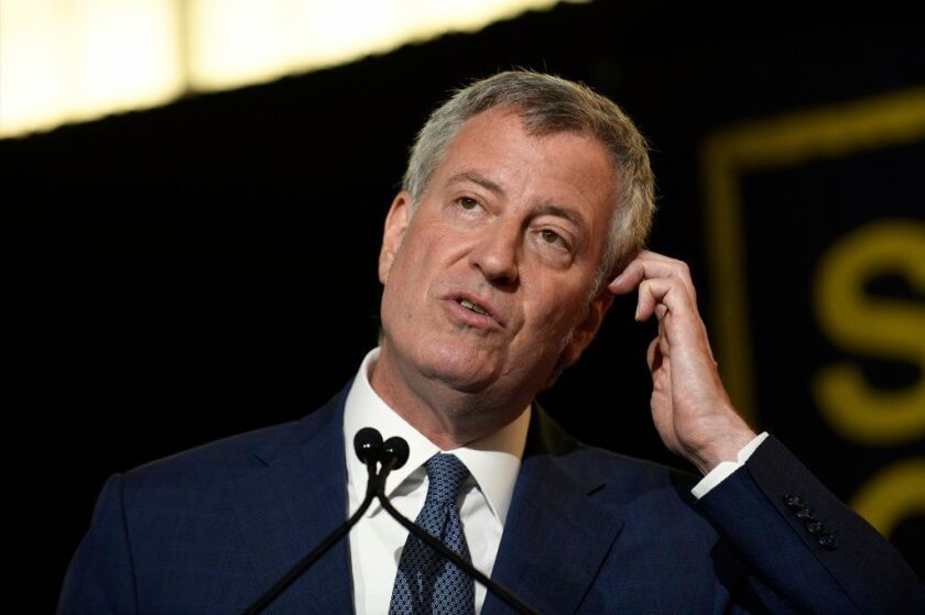 Mayor Bill De Blasio say the court-ordered release of 14,000 emails shows his commitment to open government.
