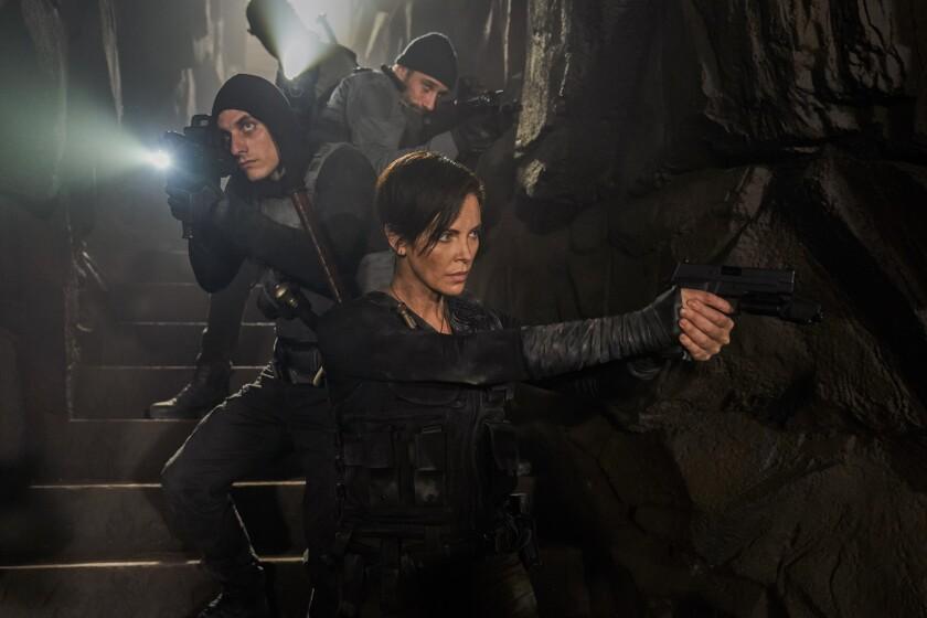 """Una escena de """"The Old Guard"""", que se puede ver ya en Netflix."""