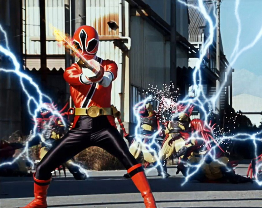 The Power Rangers will be coming to the new Vortexx video on demand channel.
