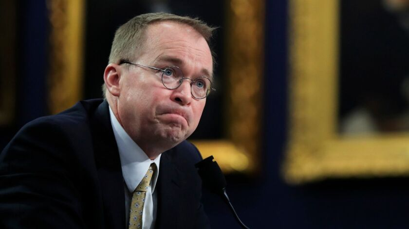 Mick Mulvaney, acting director of the Consumer Financial Protection Bureau, has said repeatedly that he planned to curtail the bureau's operations to only what is required by law.