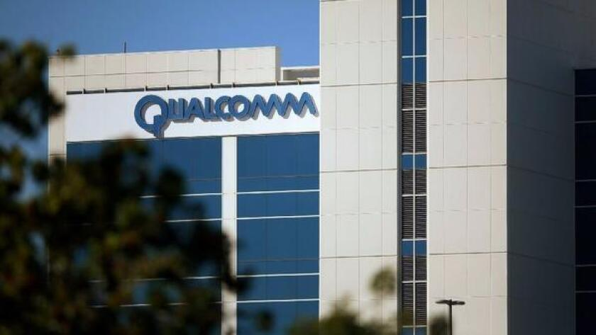 Qualcomm names Mark McLaughlin, former chief executive of Palo Alto Networks, as board chairman.