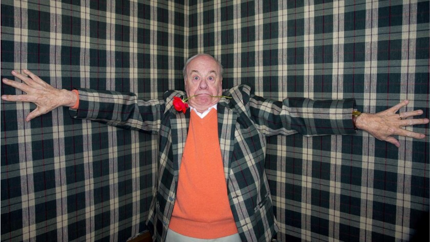 Tim Conway at home in 2013.