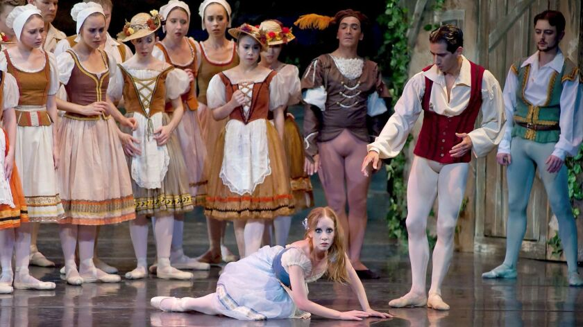 Giselle by the City Ballet. Dale Stokes photo