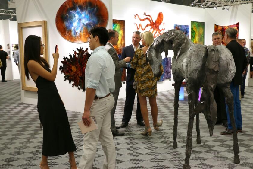 Una imagen del Art San Diego Contemporary Art Show.