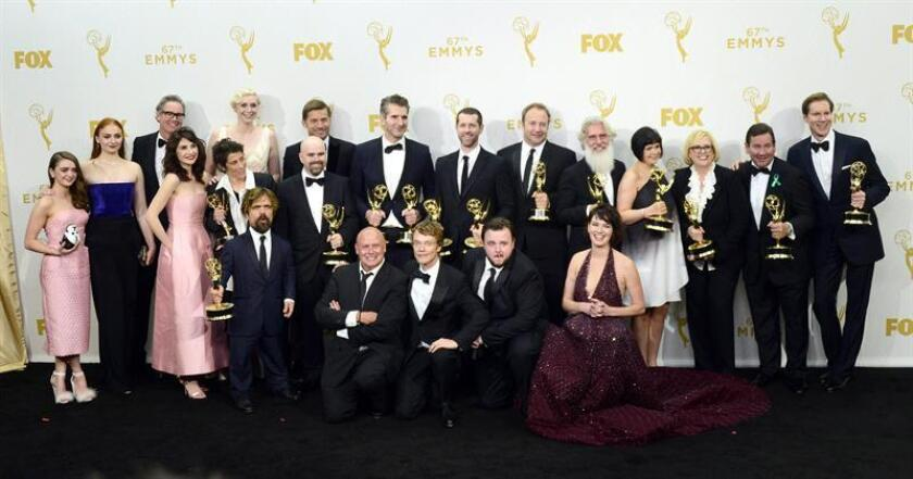 """La serie """"Game of Thrones"""" fue la más pirateada en todo el mundo en 2017, con lo que la superproducción de fantasía épica de HBO lideró esta clasificación por sexto año consecutivo, según los datos ofrecidos por el portal especializado TorrentFreak. EFE/EPA/ARCHIVO"""