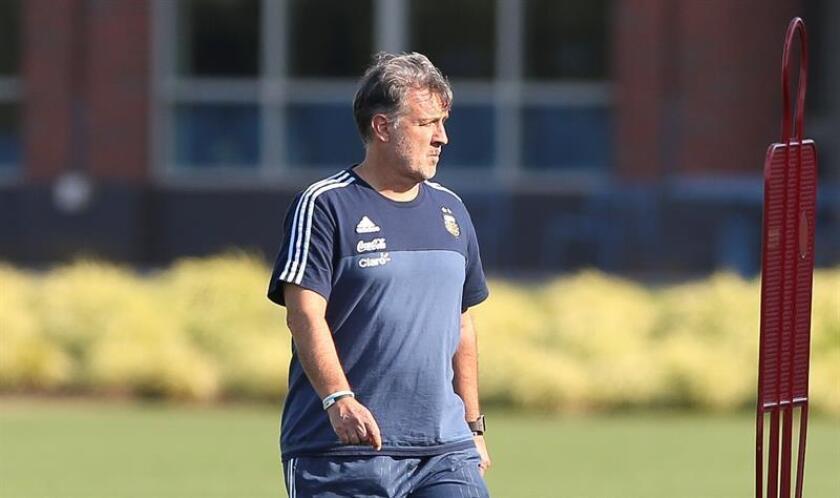 """Fotografía de archivo del seleccionador argentino Gerardo """"Tata"""" Martino. EFE/Archivo"""