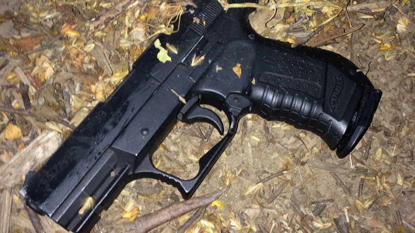 Police say this is the replica gun a 15-year-old boy in Santa Rosa was carrying when he was confronted by officers Monday night.