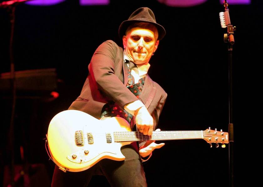 Everclear frontman Art Alexakis. The band will be at the Greek Theatre for the Summerland Tour.