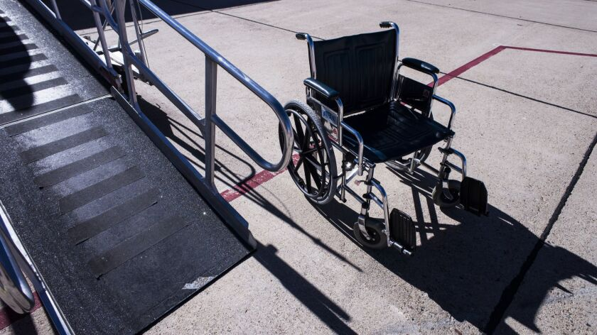 Airlines now must report damage to wheelchairs and other mobility devices. Fliers can factor that data into travel plans.