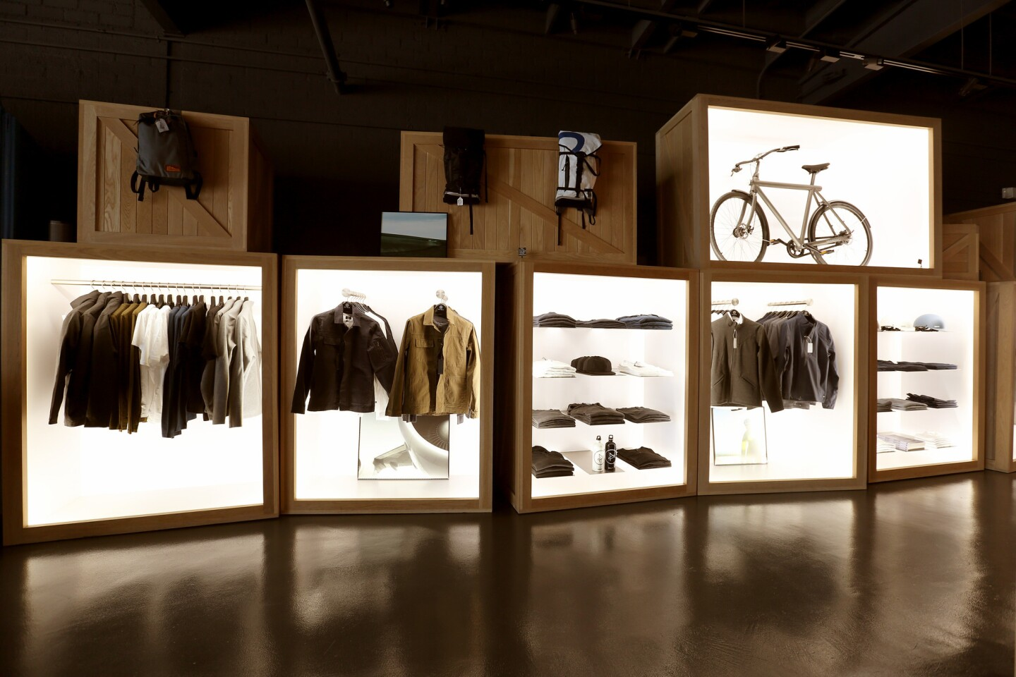 Luxury performance wear as fashion, Aether is an L.A.-based brand founded in 2009. We catch up with Jonah Smith and Palmer West to talk about their business at their La Brea Avenue flagship.