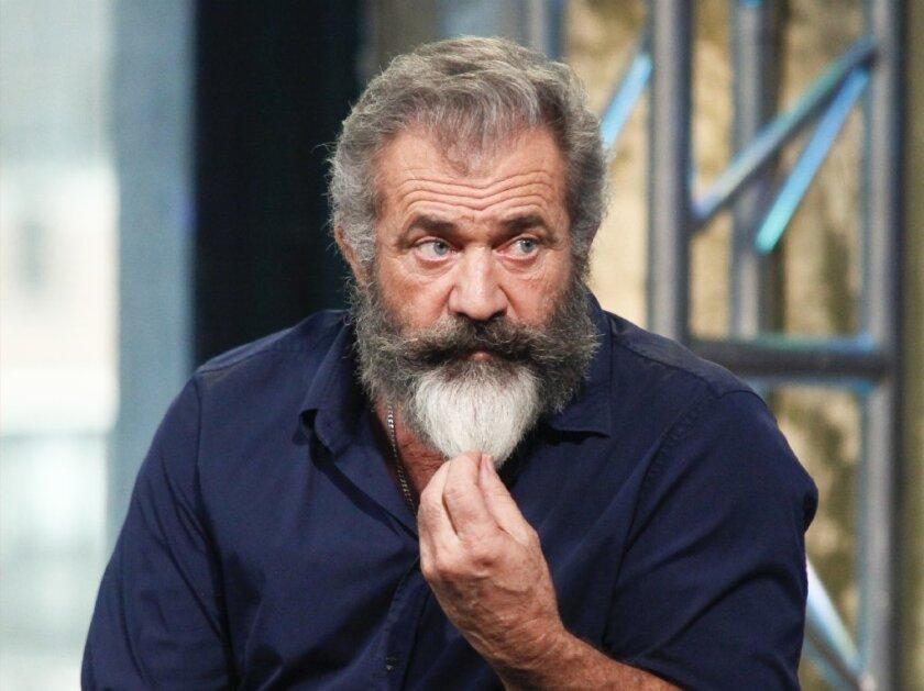 """Mel Gibson, director of """"Hacksaw Ridge"""""""