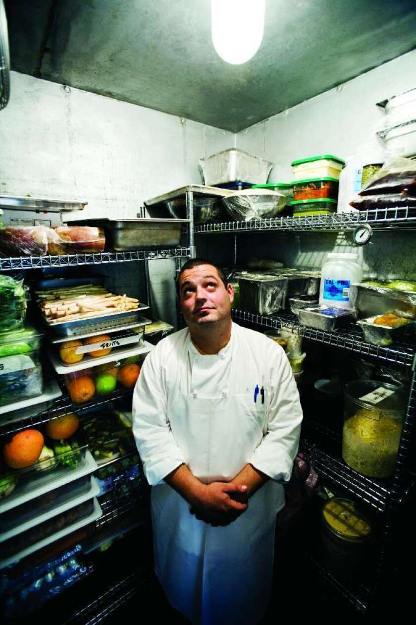 Eric Greenspan is the chef of the Foundry on Melrose and the Roof on Wilshire.