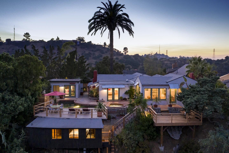 Corbin Bernsen and Amanda Pay's Laurel Canyon compound