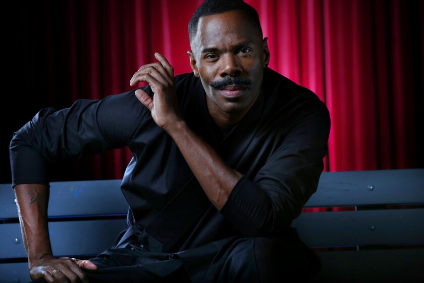 "Colman Domingo is directing the Robert O'Hara play ""Barbecue"" at the Geffen Playhouse.."