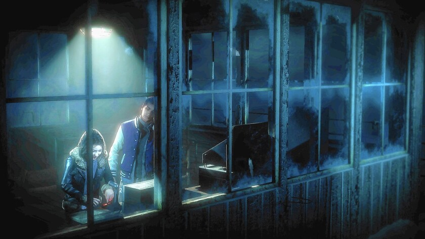 """Until Dawn"" has scary-movie tropes and a narrative that continually pushes the player forward."