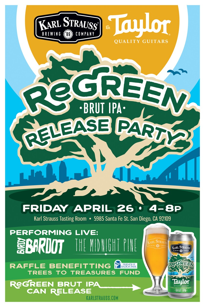 ReGreen Release Party 2019 20x30 Poster WORK