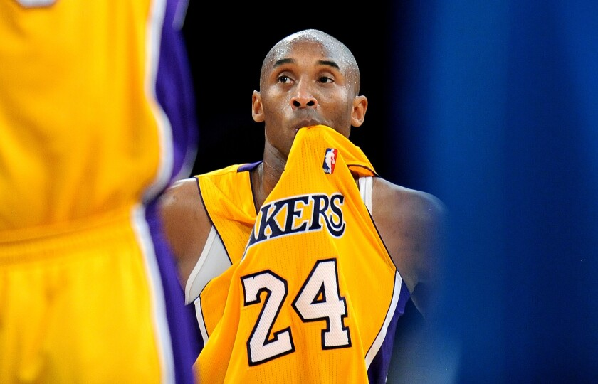 Kobe Bryant has been ranked as the 40th best player in the NBA by ESPN.com