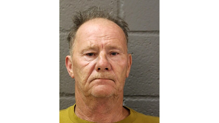 Timothy Trybus faces two counts of felony hate crime.