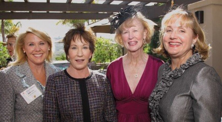 Muffy Walker, Dede Carlson, Elizabeth Ravenif, Julie Sarno (Photo: Jon Clark)