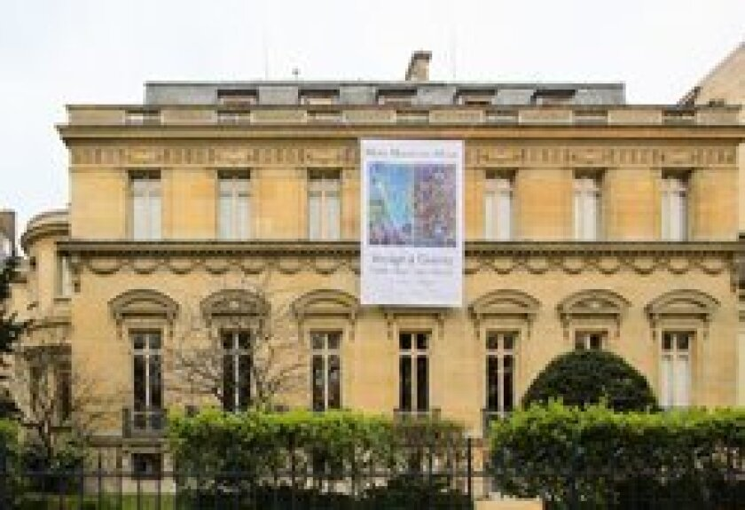 The Musee Mamottan Monet in Paris, France