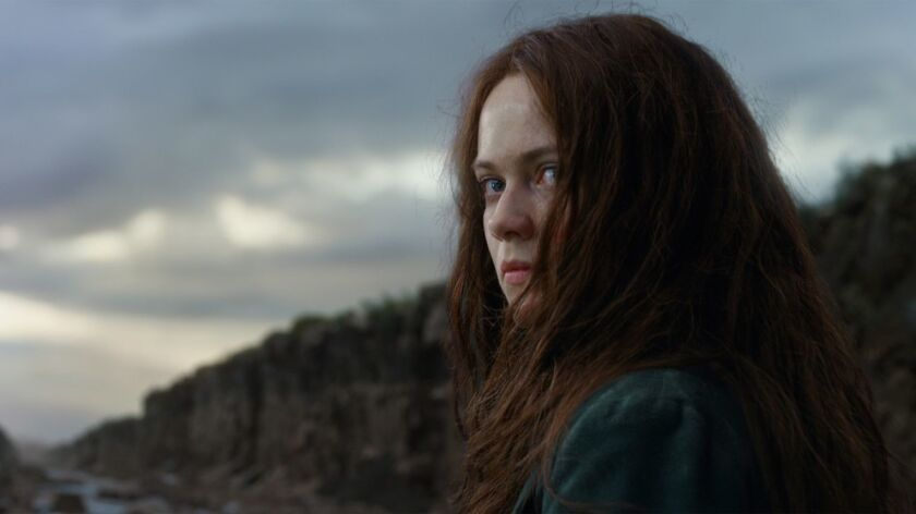 **HOLIDAY SNEAKS 2018-DO NOT USE PRIOR TO NOV. 4, 2018***In Mortal Engines, Hera Hilmar stars as Hes