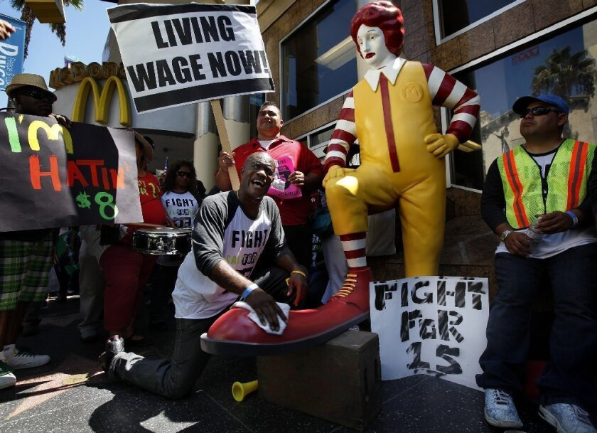 A recent study found that more than half of families of fast-food workers receive some form of public assistance, costing the nation $7 billion a year.