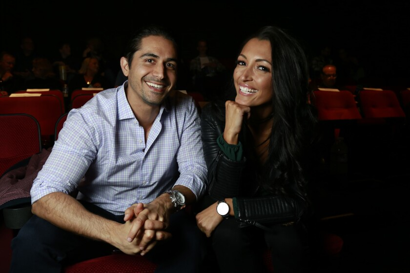 Pacific Magazine April Blind Daters Omid and Ashley