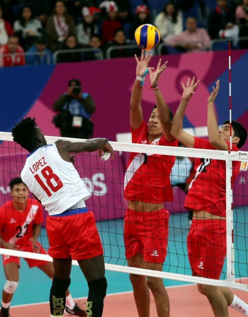 Perú busca mostrar un cambio en el voleibol masculino, afirma su capitán